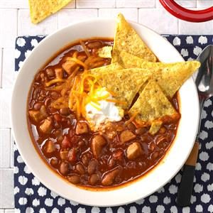 Zippy Pork Chili Recipe