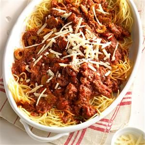 Zippy Spaghetti Sauce Recipe