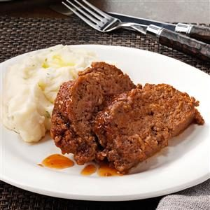 Zippy Sweet-and-Sour Meat Loaf