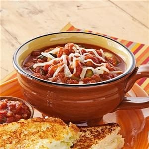 Zippy Vegetarian Chili Recipe