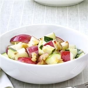 Zucchini Apple Salad Recipe