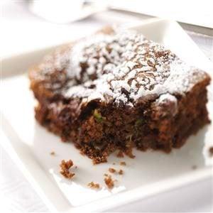 Zucchini Chip Chocolate Cake Recipe