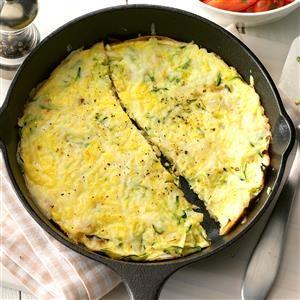 Thursday's Breakfast: Zucchini Frittata