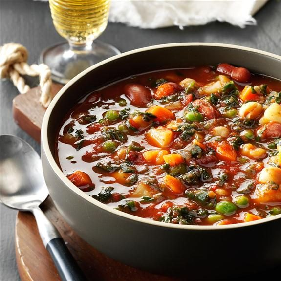 40 Recipes for Vegetable Soup