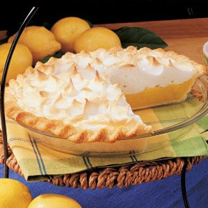 Savory Lemon Meringue Pie
