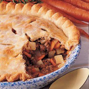 Tasty Meat Pie Recipe photo by Taste of Home