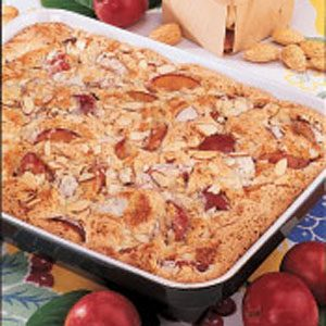 Image of Almond Plum Kuchen Recipe, Taste of Home