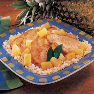 Image of Aloha Chicken Recipe, Taste of Home