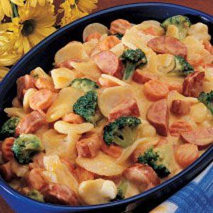 Image of Au Gratin Sausage Skillet Recipe, Taste of Home
