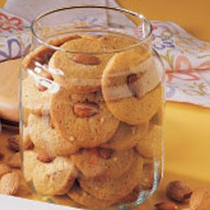 Image of Almond Icebox Cookies Recipe, Taste of Home