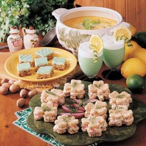 Shamrock Lunch | Finger foods, Food |Irish Luncheon Ideas