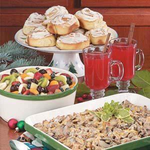 Festive christmas brunch taste of home