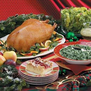 Yuletide Menu Includes Wonderful Food