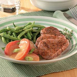 Pork Medallions with Sauteed Apples