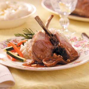 Rack of Lamb with Fig