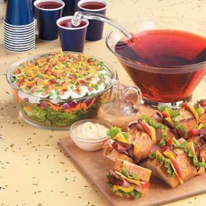 Graduation Finger Food Recipes