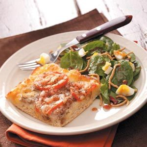 Family-Pleasing Pizza Meal