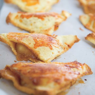 Image of Apple-Cheddar Turnovers, Rachael Ray Magazine