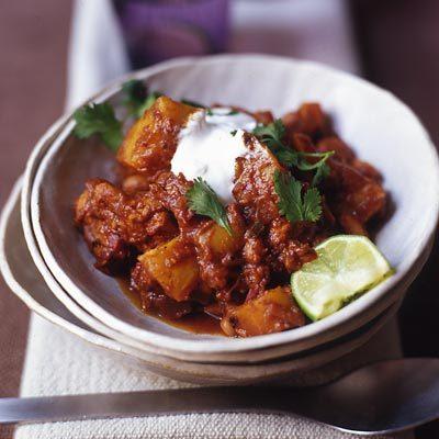 Image of Acorn Squash And Chicken Chili, Rachael Ray Magazine
