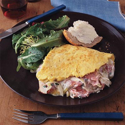 Image of Alsace And Lorraine Omelet, Rachael Ray Magazine
