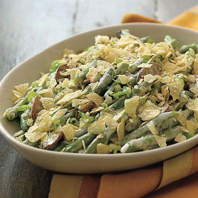 green bean casserole, easy green bean casserole, green bean casserole ...