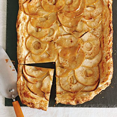 Image of Apple Galette With Cider Drizzle, Rachael Ray Magazine