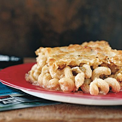 Image of Austin Mac 'n' Cheese Suiza, Rachael Ray Magazine