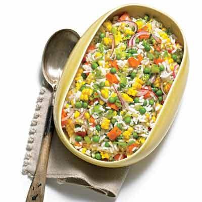 Image of Argentine Rice-Veggie Salad, Rachael Ray Magazine