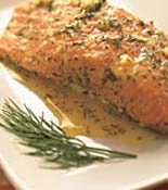 Garlic-Dill Salmon