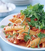 Penne with Two-Tomato Sauce