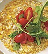 Tomato-Saffron Risotto Milanese