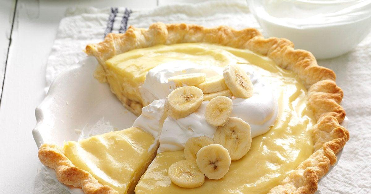 Banana Cream Pie Recipe | Taste of Home