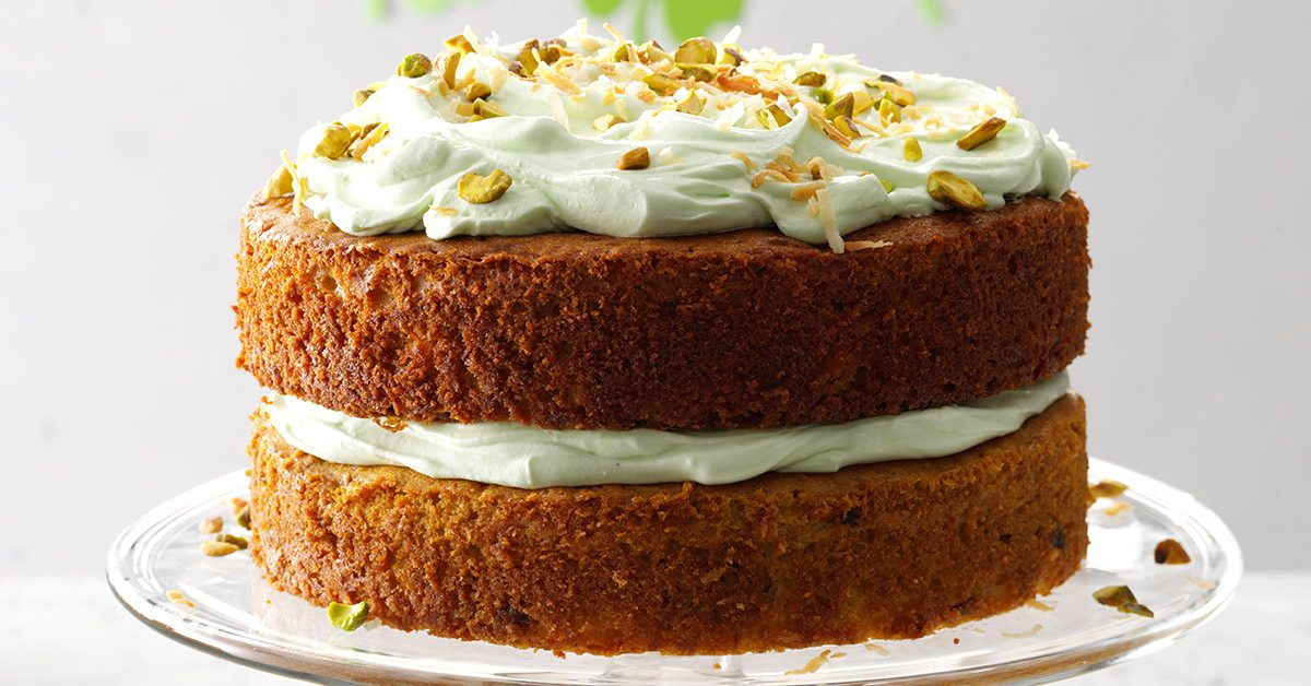 Pistachio Coconut Cake Taste Of Home