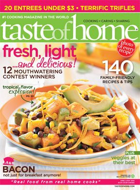 March 30 Taste of Home April May 2010 Issue