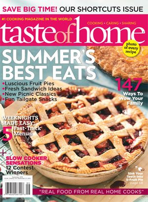 July 27 Taste of Home August September 2010 Issue