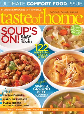 January 26 Taste of Home February March 2010 Issue