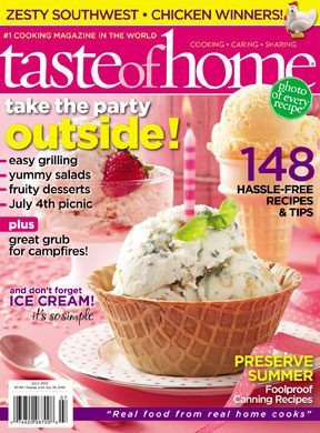 May 25 Taste of Home June July 2010 Issue