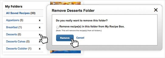 how to delete ehome folder