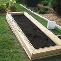 Building a Raised Garden Photo