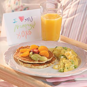 Mother's Day Breakfast Menu Planner