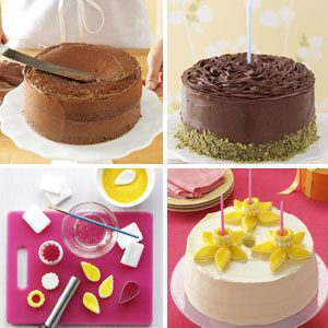 Birthday Cake Decorating Ideas Taste Of Home - Homemade cake decorating ideas
