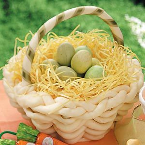 How to Make a Chocolate Easter Basket