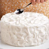 frosting a cake - How To Decorate A Cake