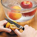 How to Peel Peaches Photo