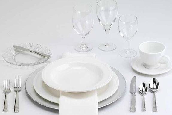 Begin with the setting for an informal dinner or luncheon and add to it using the following ideas & How to Set a Table | Taste of Home