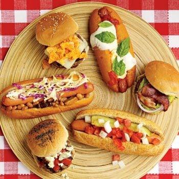12 New Ideas for Hot Dog & Burger Toppings | Taste of Home
