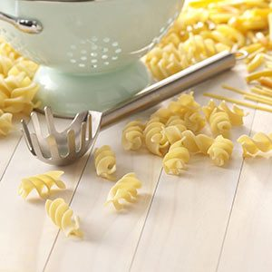 Projectile-Free Pasta