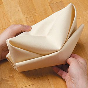How to Fold a GI Cap Napkin