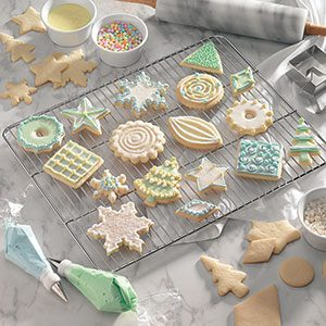 Vanilla Butter Cutouts Recipe & 6 Tips for Decorating Christmas Cookies | Taste of Home