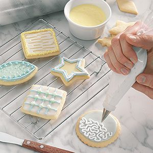 glazing and decorating - Cookie Decorating